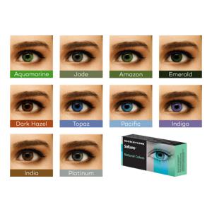 SofLens Natural Colors (2 linser): -5.50, Emerald