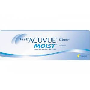 Acuvue 1-DAY ACUVUE MOIST 30-pack: -1.00, 8.5