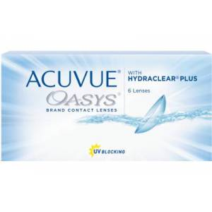 ACUVUE OASYS (6 linser): -2.25, 8.8