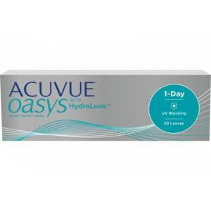 ACUVUE OASYS 1-Day (30 linser): +6.50, 9.0
