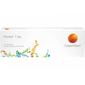 Proclear 1 day (30 linser): -3.00