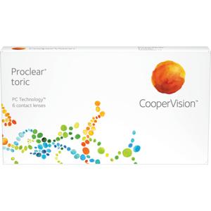 Proclear toric (6 linser): -5.00, -1.25, 90