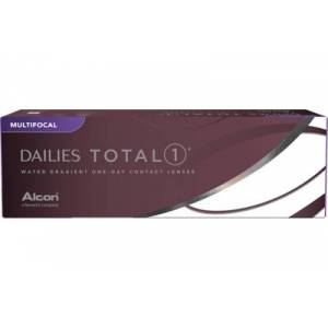 DAILIES TOTAL 1 Multifocal (30 linser): -7.75, MED (MAX ADD +2.00)