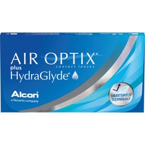 AIR OPTIX plus HydraGlyde, +2.00, 8,6, 14,2, 3, 3