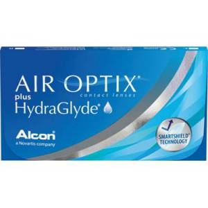 AIR OPTIX plus HydraGlyde 6-pack: +4.00