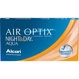AIR OPTIX NIGHT&DAY AQUA 6-pack: -6.00, 8,4