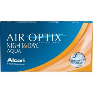 AIR OPTIX NIGHT&DAY AQUA 6-pack: +0.50, 8,4