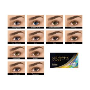 AIR OPTIX COLORS, -0.25, 8,6, 14,2, 2, 2, CO: True Sapphire