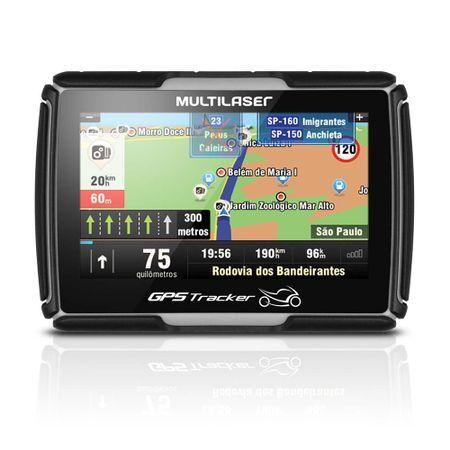 Multilaser Navegador GPS Multilaser Tracker para Moto Tela 4.3 Pol. - GP040 GP040