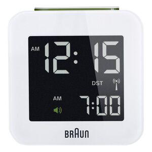 Braun - Digitalt Vækkeur Med Lys Og Snooze - Bnc-008 - Hvid