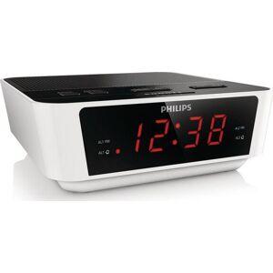 Philips Clockradio Med Led Lys - Aj3115/12 - Hvid