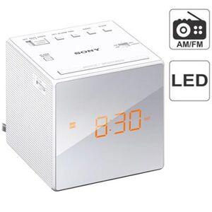 Sony ICF-C1 Klokkeradio - AM/FM - Hvit