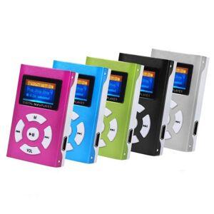 eStore Trendy MP3-Spiller med LCD-skjerm - Rosa