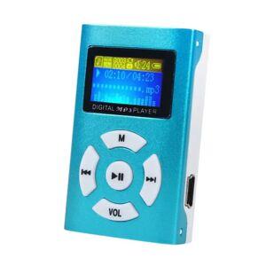 eStore Trendy MP3-Spiller med LCD-skjerm - Blå