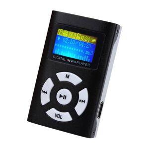 eStore Trendy MP3-Spiller med LCD-skjerm - Svart