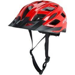 Atrio Capacete para Bike com Led Atrio 2 - Adulto - Vermelho/Preto