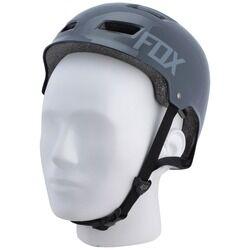 Fox Capacete para Bike Fox Trans Hard Gloss - Adulto - PRETO