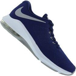 Nike Tênis Nike Air Max Alpha Trainer - Masculino - AZUL ESC/CINZA CLA