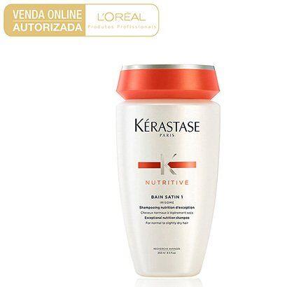 Shampoo Kérastase Nutritive Bain Satin 1 250ml - Feminino-Incolor