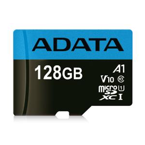 A-Data ADATA 128GB MicroSDXC UHS-I Class 10 A1 W/SD Adapter
