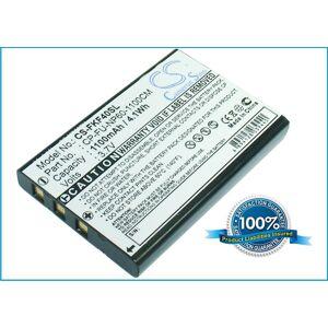 CP-FU-NP60-1100CM Batteri till GPS 1100 mAh 52.20 x 35.30 x 7.10mm