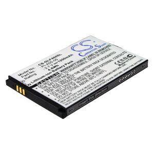 Golf Buddy DSC-GB400 Batteri till GPS 1250 mAh 64.90 x 44.10 x 5.52mm