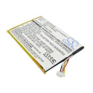 ENCPT505068HT Batteri till GPS 2000 mAh 69.95 x 50.04 x 4.50mm