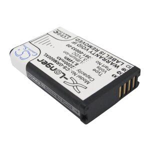 Garmin Montana 600 Batteri till GPS 2200 mAh 53.33 x 34.15 x 10.88mm