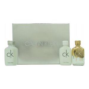 Calvin Klein CK Gift Set 10ml CK One EDT+ 10ml CK One Gold + 10ml CK All EDT