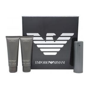 Giorgio Armani Emporio He Gift Set 50ml EDT + 2 x 75ml Shower Gel