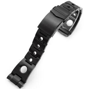MiLTAT Rollball PVD Black teräsranneke Seiko Turtle sarjaan SS221820BBK089  - unisex