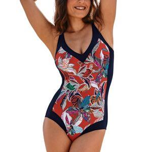 Anita Indian Life Swimsuit - Black pattern-2
