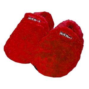 Mikamax Hot Feet Lämpötossut - Punainen