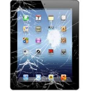 Digishop iPad 1 hajonneen etulasin ja kosketuspaneelin vaihto
