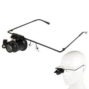 24hshop Silmälasit 20X Suurennus + LED valo