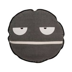 Bloomingville Grey Face Cushion
