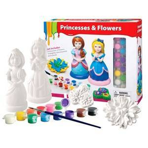 ART Champion Art Paint Your Own Princess and Flowers