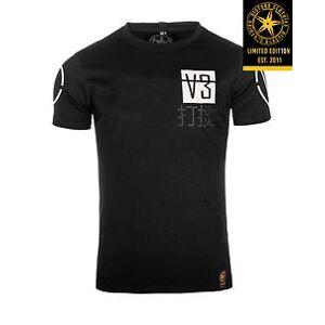 Disturb Clothing V3 t-paita - Musta/Valkoinen - Size: 4XL