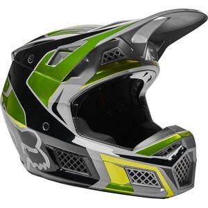 FOX V3 RS Mirer Motocross-kypäräKeltainen