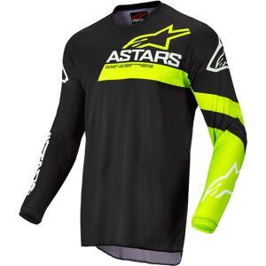 Alpinestars Racer Chaser Nuorten Motocross JerseyMusta Keltainen