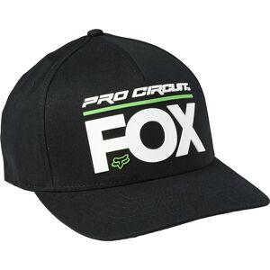 FOX Pro Circuit Flexfit LakkiMusta