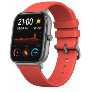 Xiaomi Amazfit GTS Vermillion Orange älykello A1914