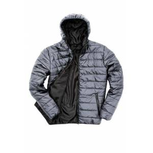 Result HUPULLINEN CORE KEVYTTOPPATAKKI Frost Grey - Black