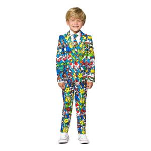 OppoSuits Super Mario Barn Kostyme - 98/104