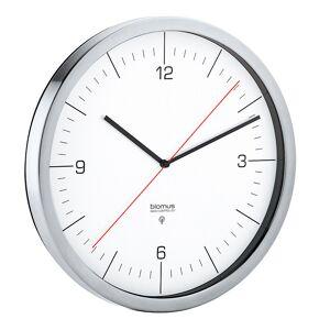 Blomus Crono Väggklocka radiokontrollerad 24 cm Vit/Rostfri