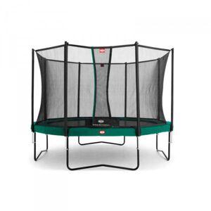 Berg Trampolin Champion inkl. sikkerhetsnett Comfort 270cm grønn