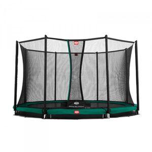 Berg Trampoline InGround Favorit + Sikkerhetsnett Comfort 330cm grønn