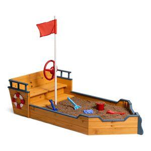 Woodlii Sandkasse Båt