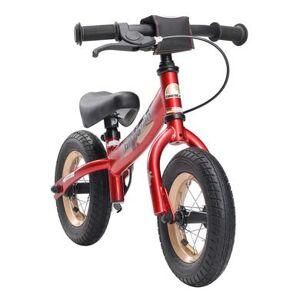 bikestar Premium Springcykel 10, Heart beats, red