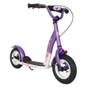 Candy bikestar Premium Sparkcykel 10 Candy Lila-Diamant Vit